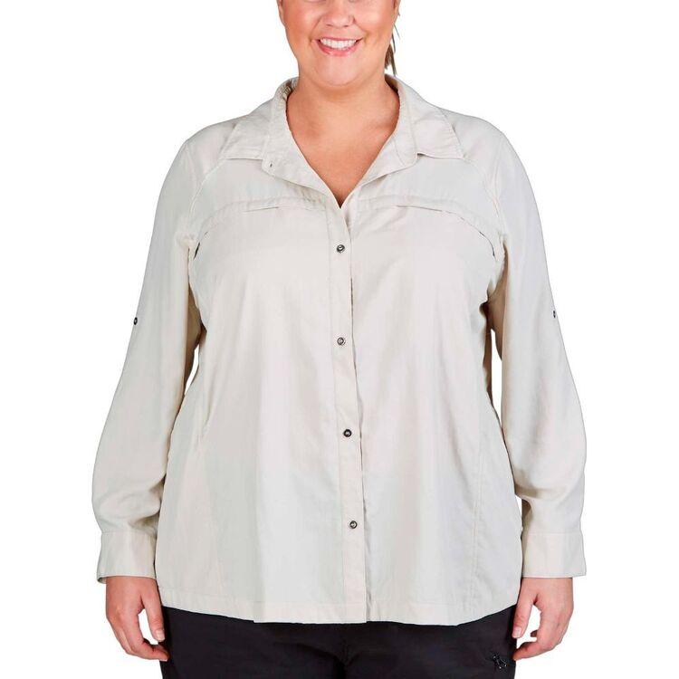 Gondwana Women's Kilalea Plus Size Long Sleeve Shirt
