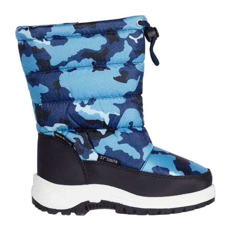 37 Degrees South Kids' Storm Snow Boots Blue