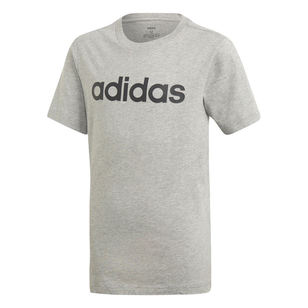 adidas Kids' Essentials Linear Logo Tee