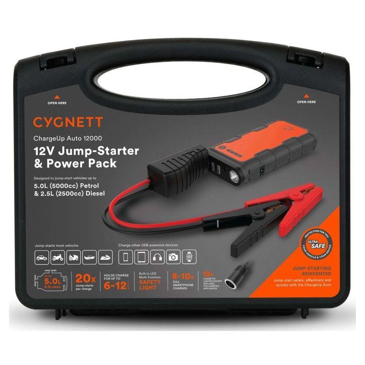 Cygnett Chargeup 12K & 12V Jump Starter