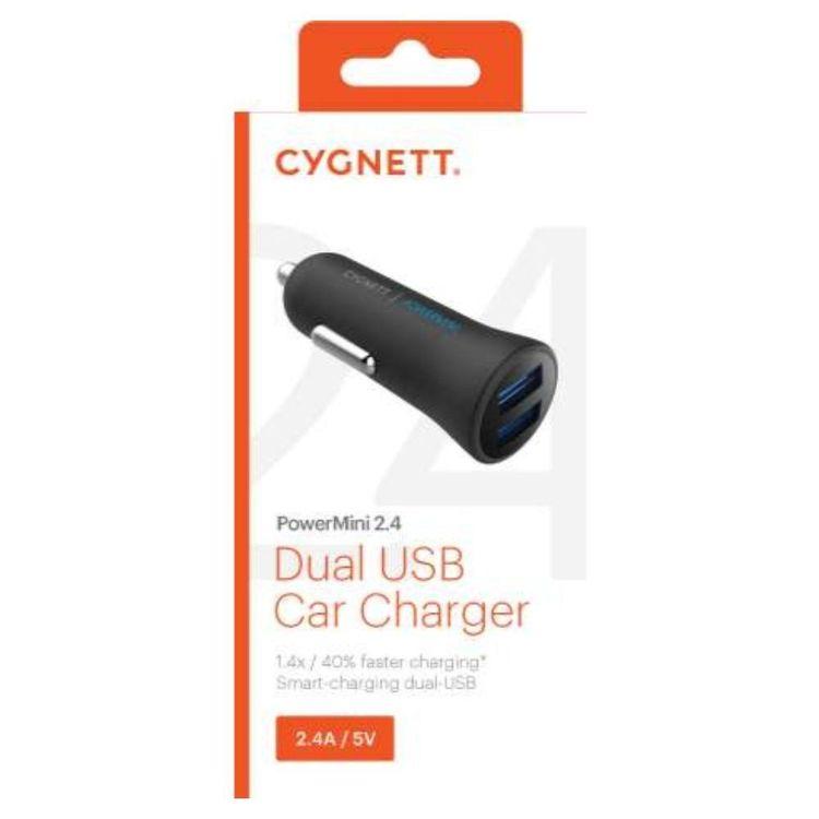 Cygnett PowerMini Dual USB Car Charger