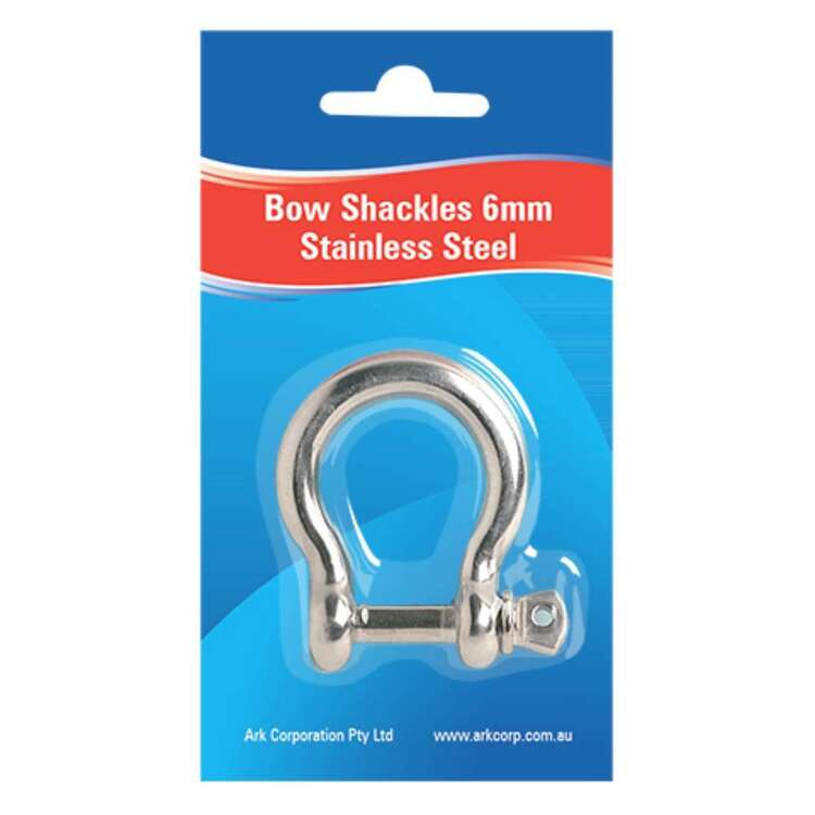 Ark Stainless Steel Bow-Shackles 8mm
