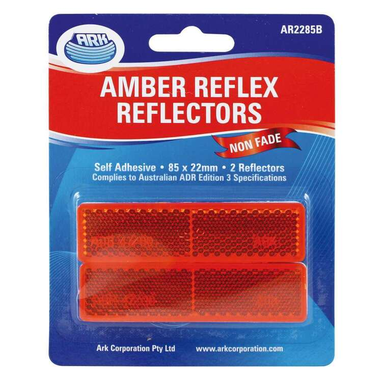 Ark Trailer Reflector 22x85mm