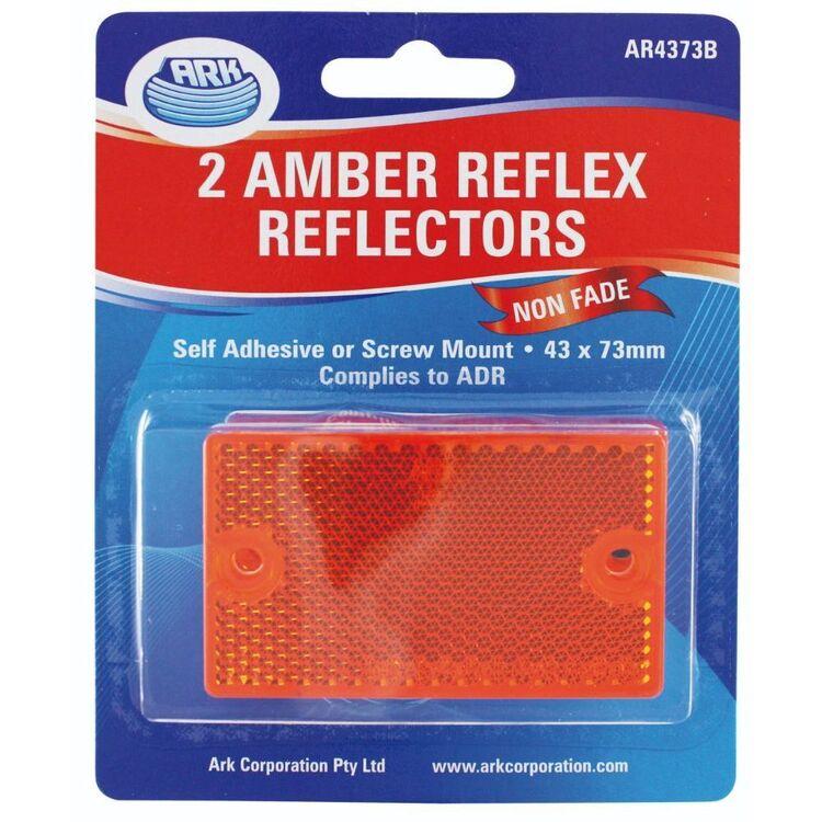 Ark Trailer Reflector 43x73mm