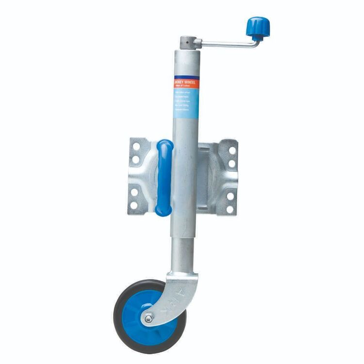 "Ark 6"" Jockey Wheel Swing Up 350kg"