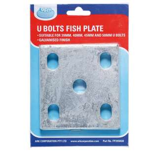 Ark Galvanised Fish Plate