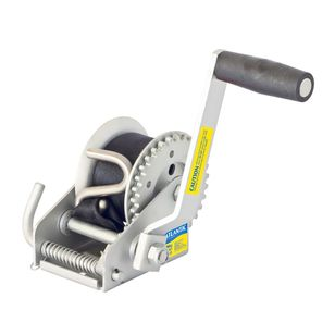 Atlantic Webbing Cadet Winch 300kg 3:1 Ratio 4.5m S Hook