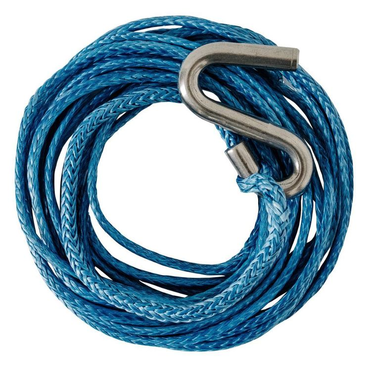 Atlantic Dyneema Rope Spare 6m x 4mm S Hook