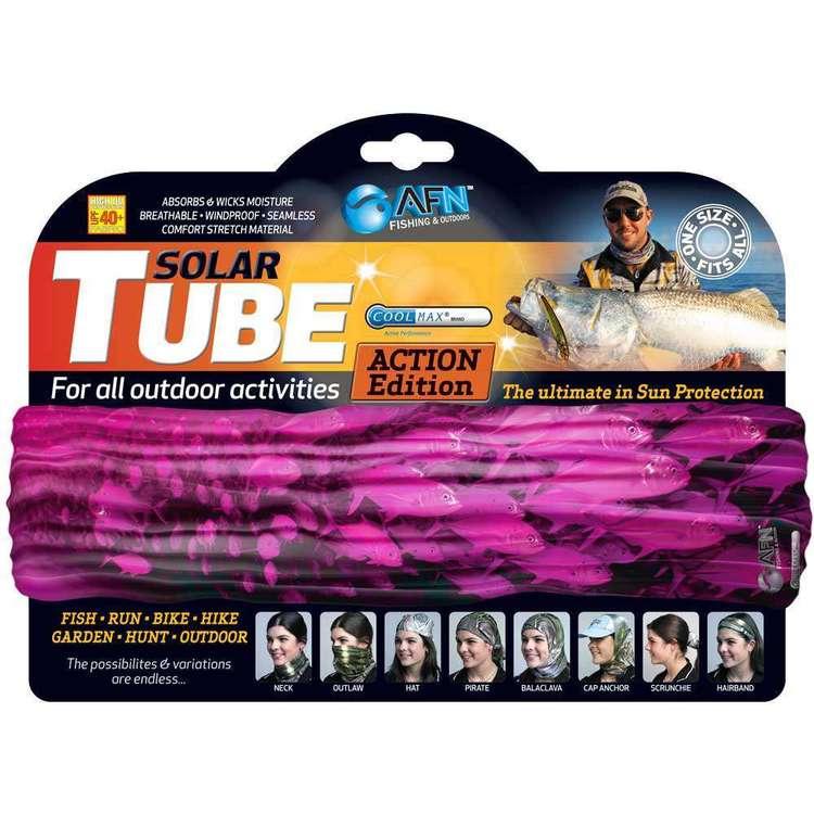 Australian Fishing Network Pink School Fish Kids' Solar Tube