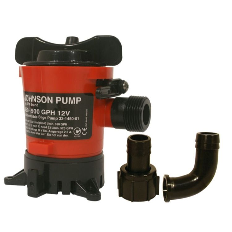 Johnson Bilge Pump 600 GPH 12V