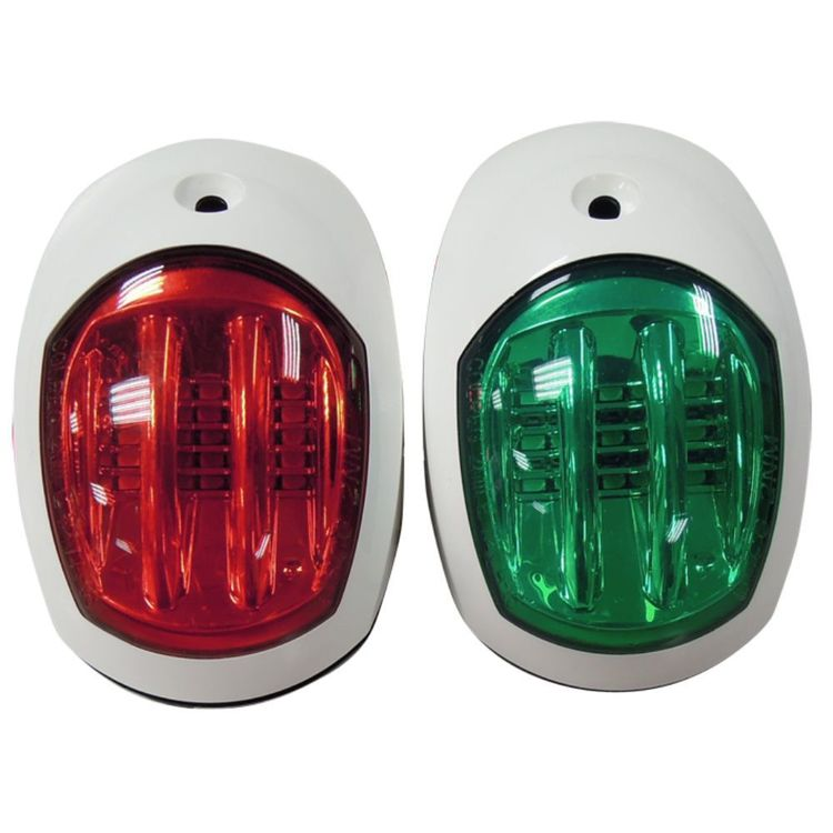 Waterline LED Port And Starboard Navigation Lights White