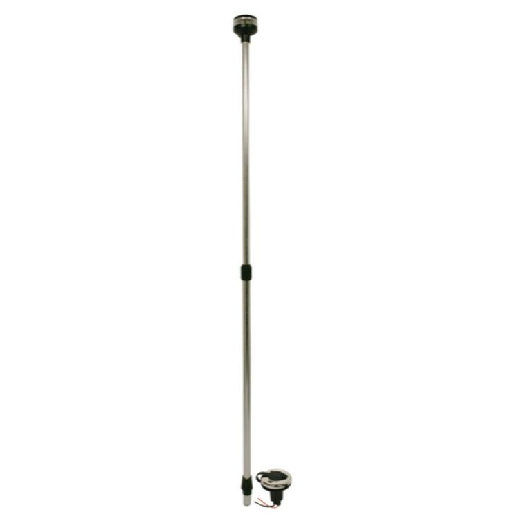 Waterline LED Telescopic Light Pole 24-48""