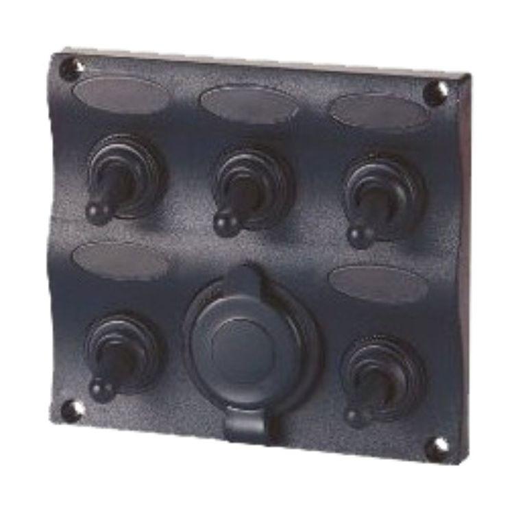 Waterline Waterproof 5 Gang Switch Panel