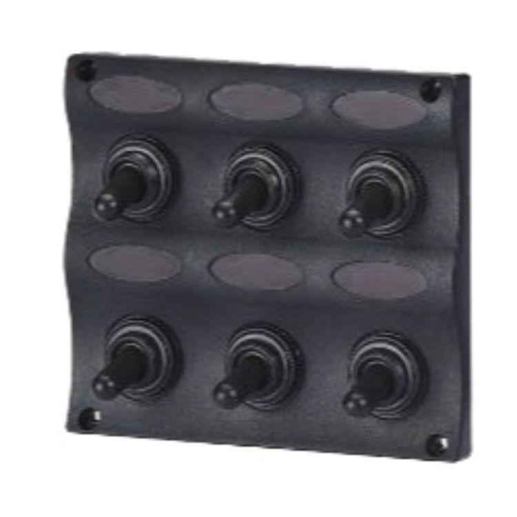 Waterline Waterproof 6 Gang Switch Panel