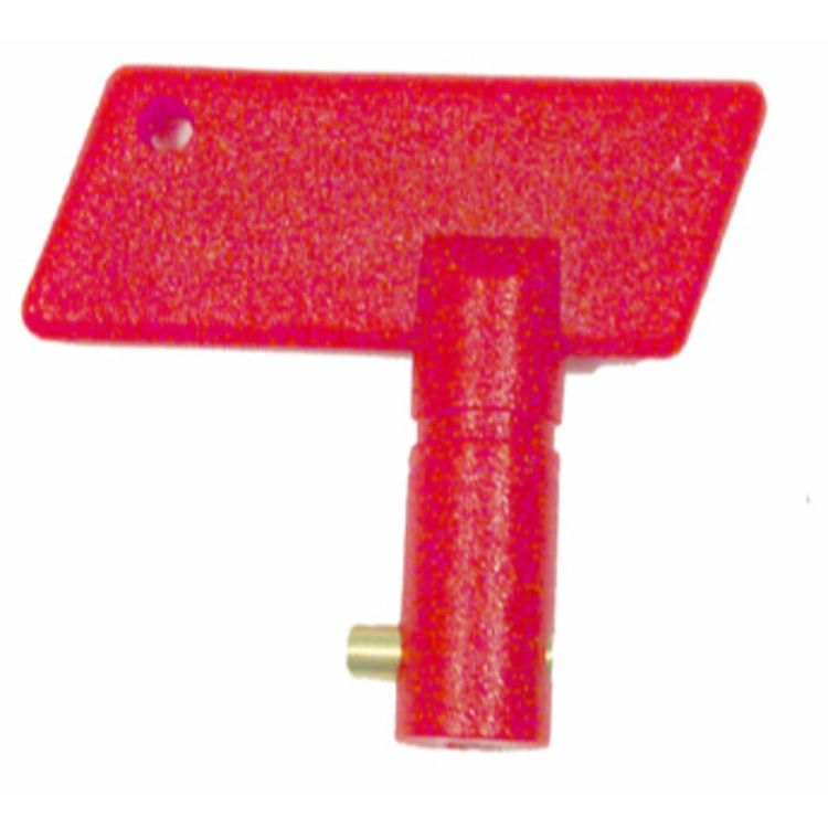 Waterline Replacement Battery Isolator Key