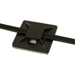 Waterline Cable Tie Base 19mm 10 Pack