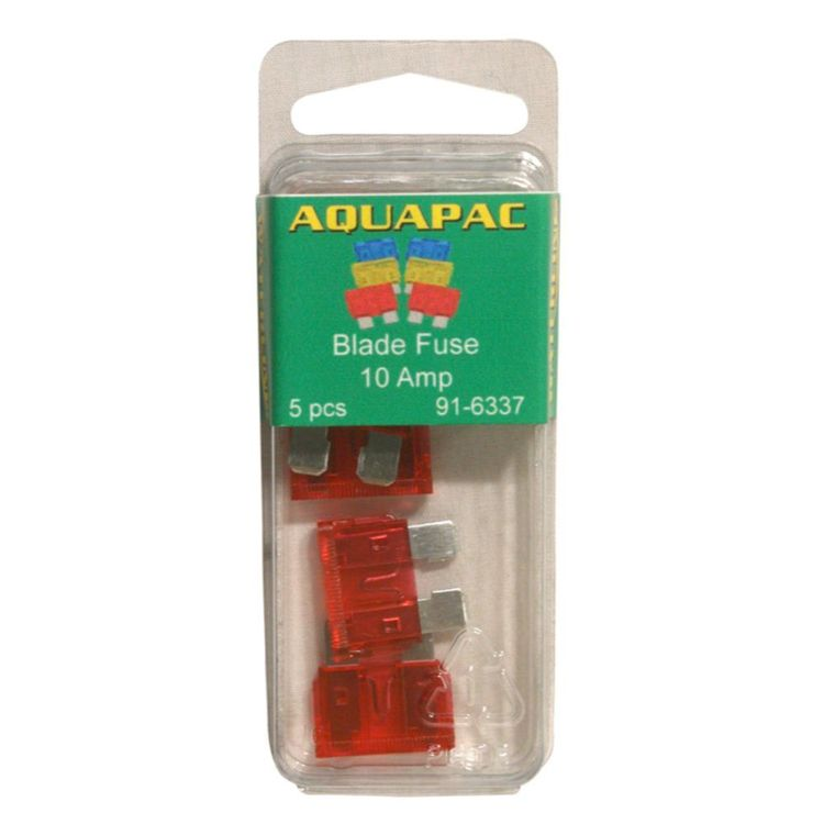 Aquapac Blade Fuse 10 Amp 5 Pack