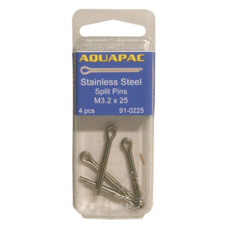 Aquapac Split Pins M4 X 25 mm 3 Pack