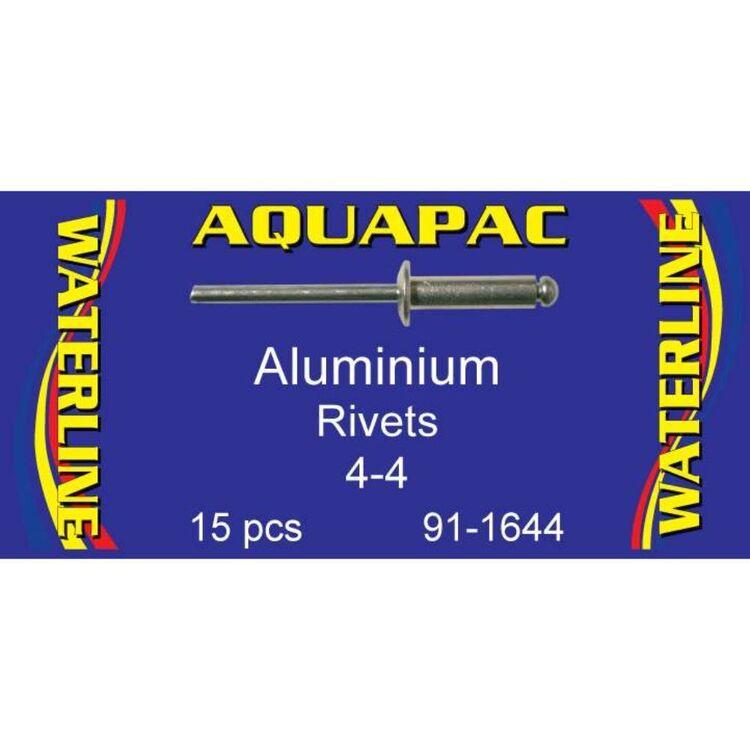 Aquapac Rivet Aluminium 4-4 15 Pack