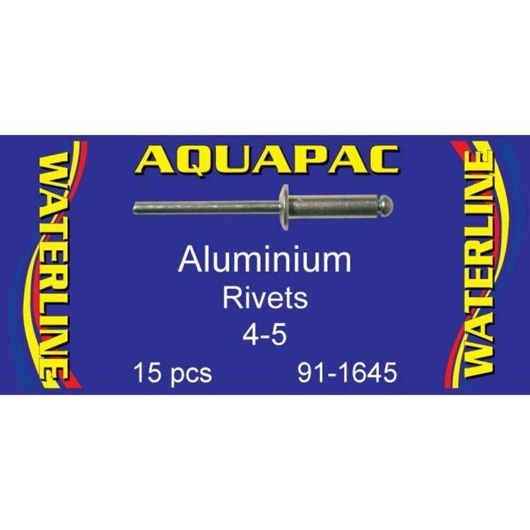 Aquapac Rivet Aluminium 4-5 15 Pack