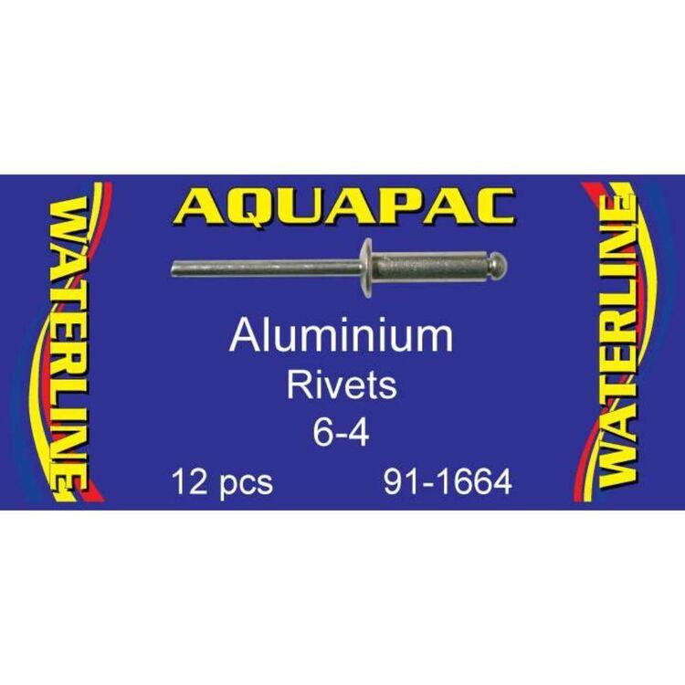 Aquapac Rivet Aluminium 6-4 12 Pack