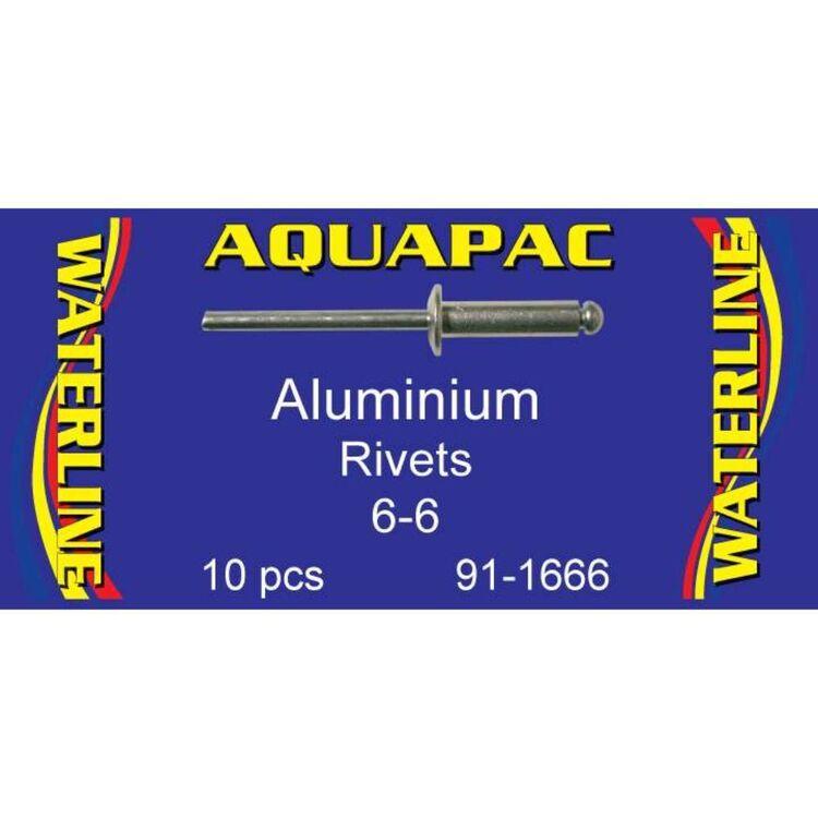 Aquapac Rivet Aluminium 6-6 10 Pack