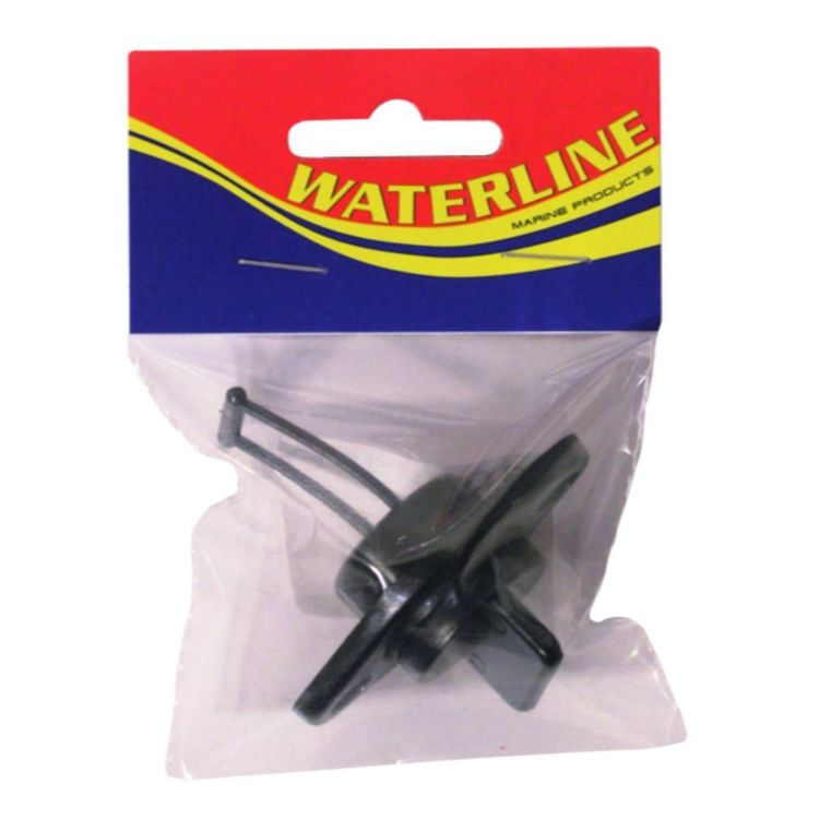 Waterline Course Thread Drain Plug And Housing