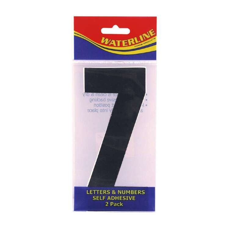 "Waterline Boat Letter ""Z"" 4 Inch 2 Pack"