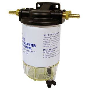 Easterner Fuel Filter With Clear Bowl