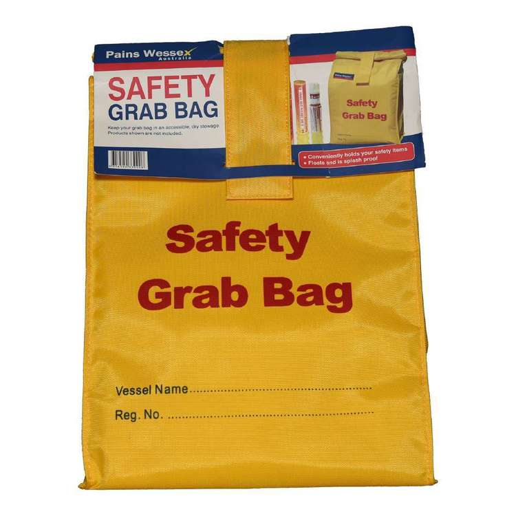 Pains Wessex Safety Grab Bag Yellow