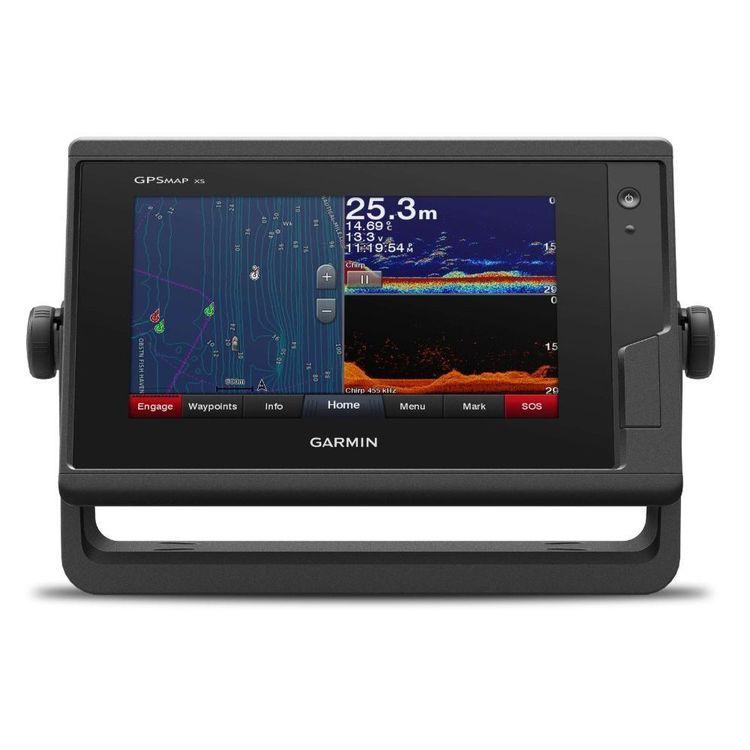 Garmin 752 XS GPS Chartplotter / Fishfinder Combo