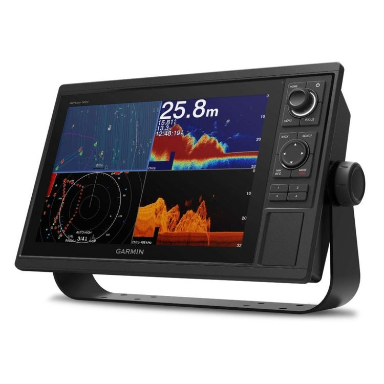 Garmin 1222 XSV GPS Chartplotter / Fishfinder Combo