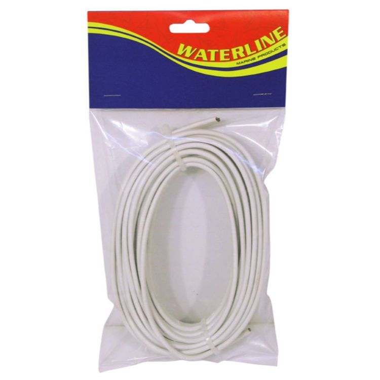 Waterline Cable 3mm Tinned Red & Black 10 Metres