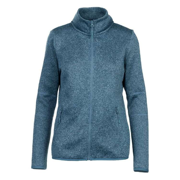 Cape Women's Layla II Full Zip Knitted Outer Fleece Top