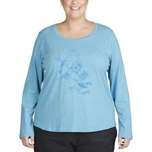 Cape Women's Malory Long Sleeve Tee Plus Size