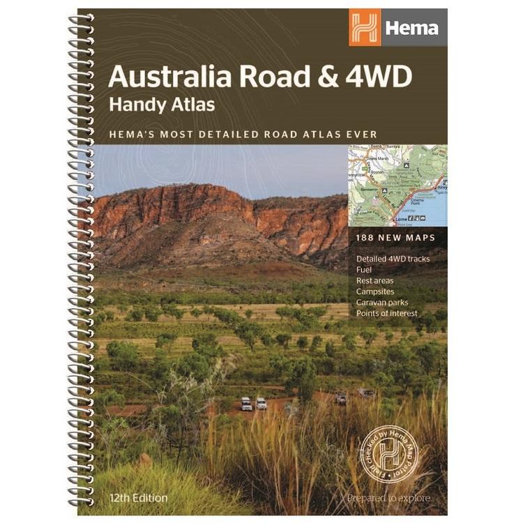 Hema Australia Handy Road & 4WD Atlas