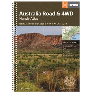 Hema Australia Handy Road & 4WD Atlas