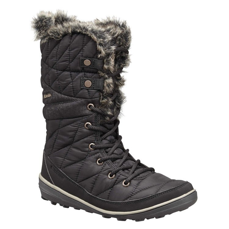 Columbia Women's Heavenly Omni-Heat Snow Boots Black Kettle