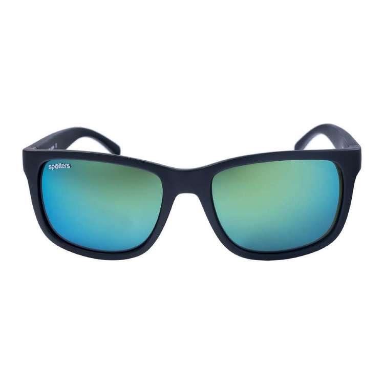 Spotters Zane Sunglasses Matte Black & Nexus
