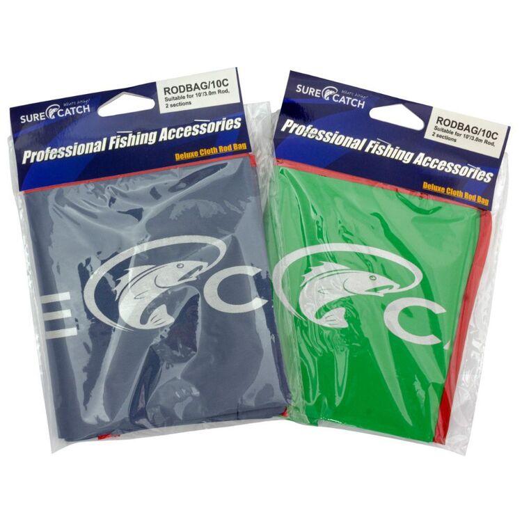 SureCatch Cloth Rod Bag 10'/11' Suits 2 Piece Rod