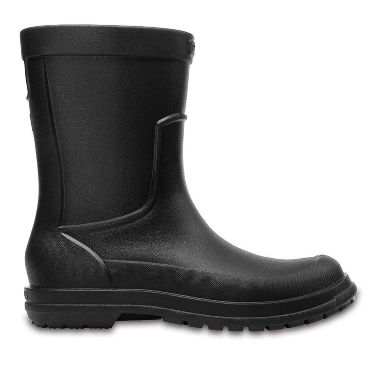 Crocs Men's All Cast Gumboot Black