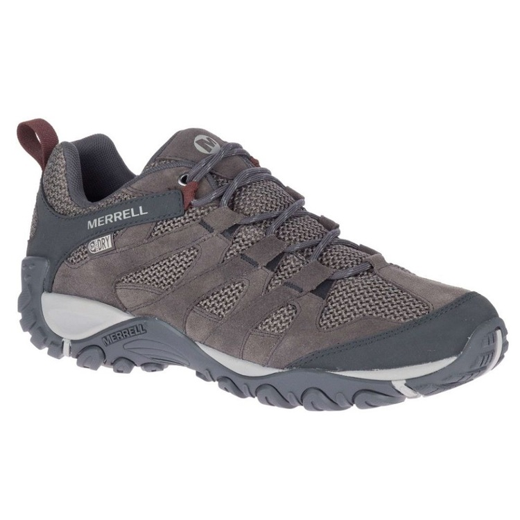 Merrell Men's Alverstone Waterproof Low Hiking Shoes Granite