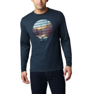 Columbia Men's Cades Cove Long Sleeve Graphic Tee