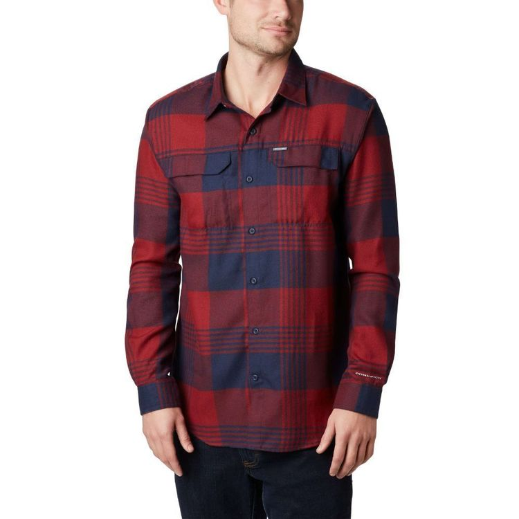 Columbia Men's Silver Ridge II Flannel Shirt