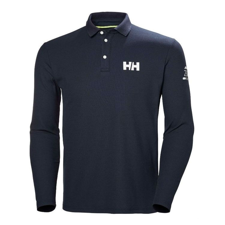 Helly Hansen Men's HP Shore Long Sleeve Polo Shirt