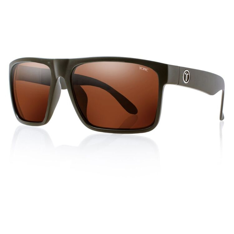 Tonic Outback Sunglasses Matte Black & Photochromic Copper