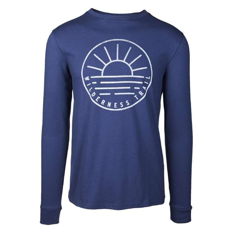 Cape Men's Recycled Long Sleeve Print Tee