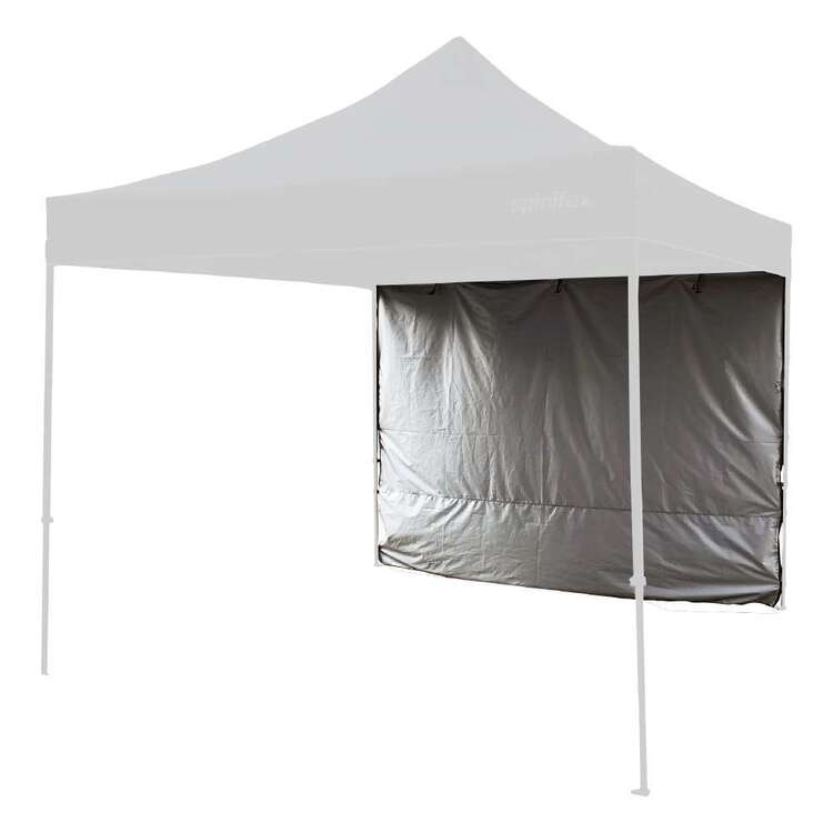 Spinifex Deluxe Gazebo 3m Solid Wall