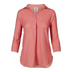 Gondwana Women's Bouddi Hemp 3/4 Shirt
