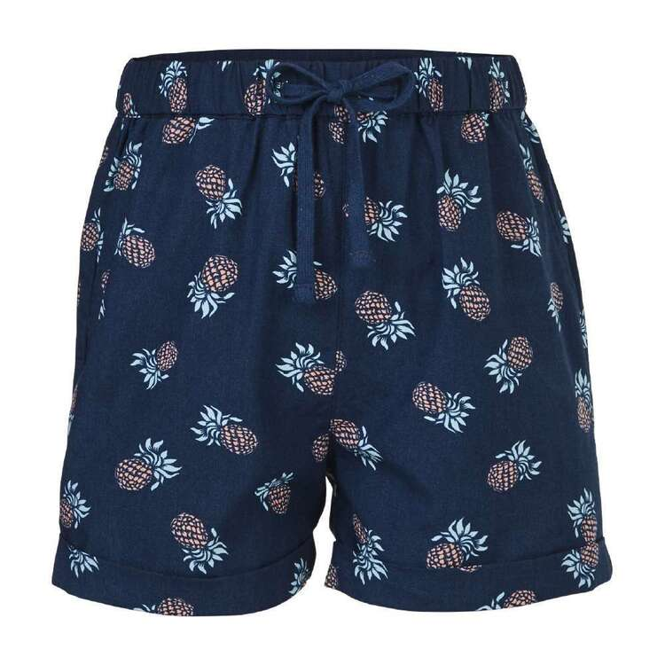 Cape Girls' Pineapple Shorts